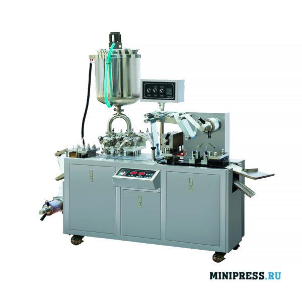 Оборудование для упаковки меда и жидких продуктов в индивидуальные блистеры