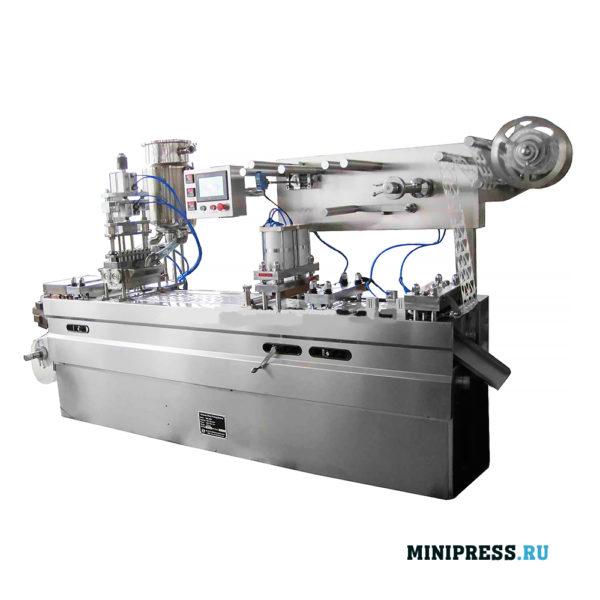 Оборудование для фасовки и упаковки мотыля в блистеры